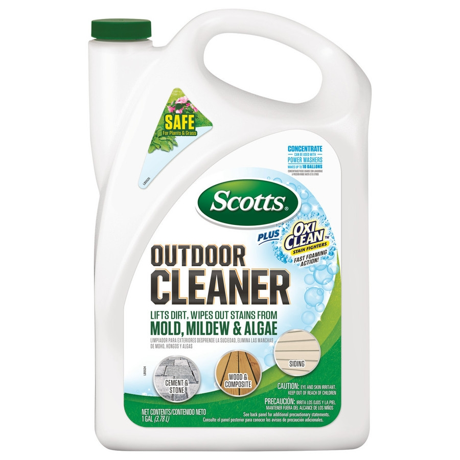 Shop Scotts Outdoor Cleaner Plus Oxiclean Concentrate At Lowes