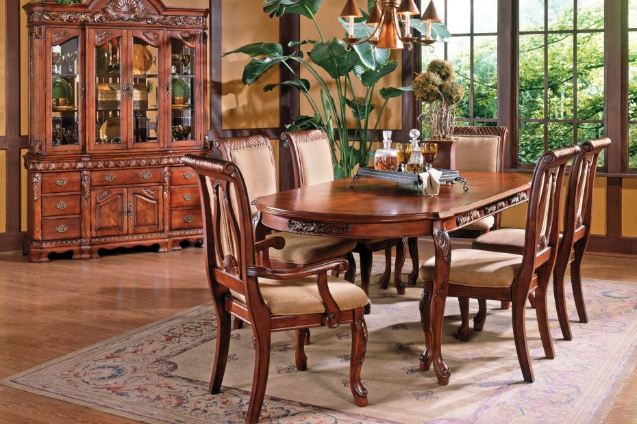Steve Silver Harmony Harpback Dining Side Chairs Cherry Set Of 2