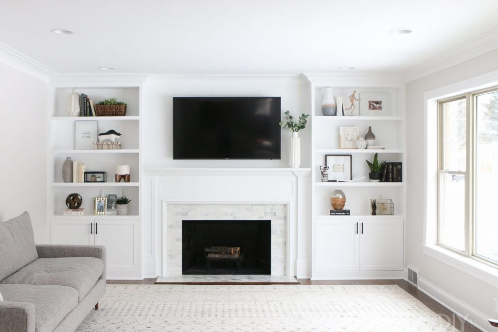The Dos And Donts Of Decorating Built In Shelves The Diy Playbook