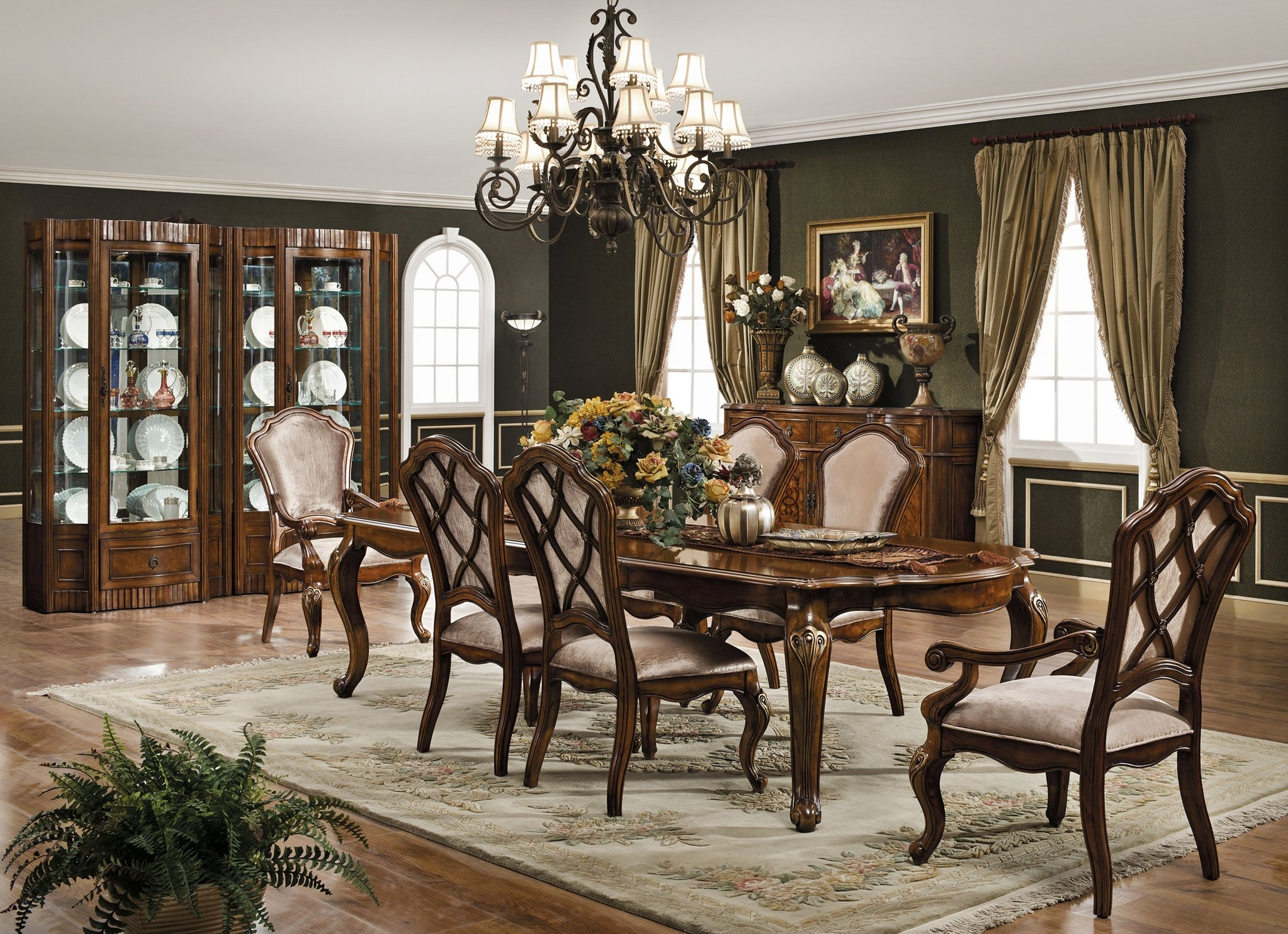 The Monaco Formal Dining Room Set