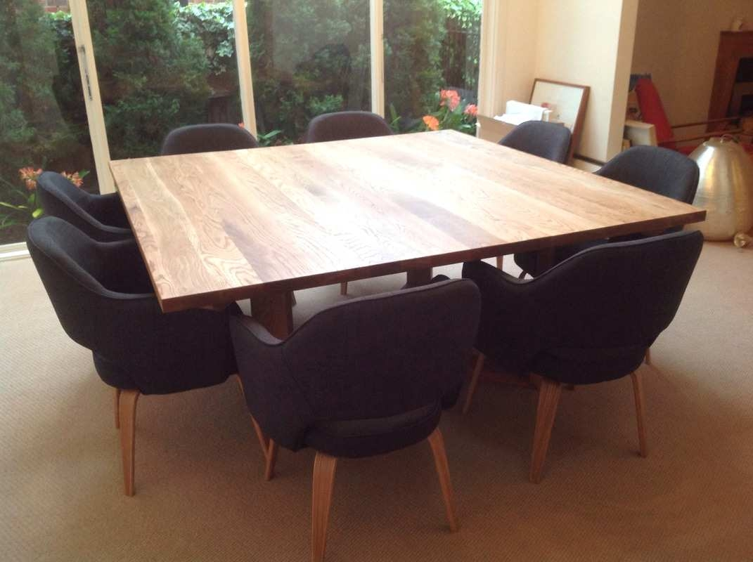 Picture of: Unique 8 Seater Square Table And Chairs For Dining Room 8 Seater Layjao
