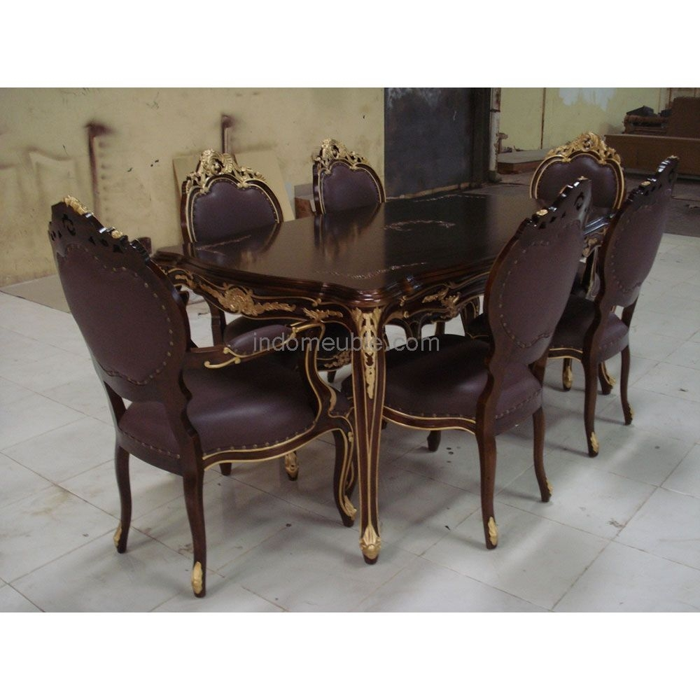 Victorian Style Dining Room Furniture Dining Set Ds007 Dining