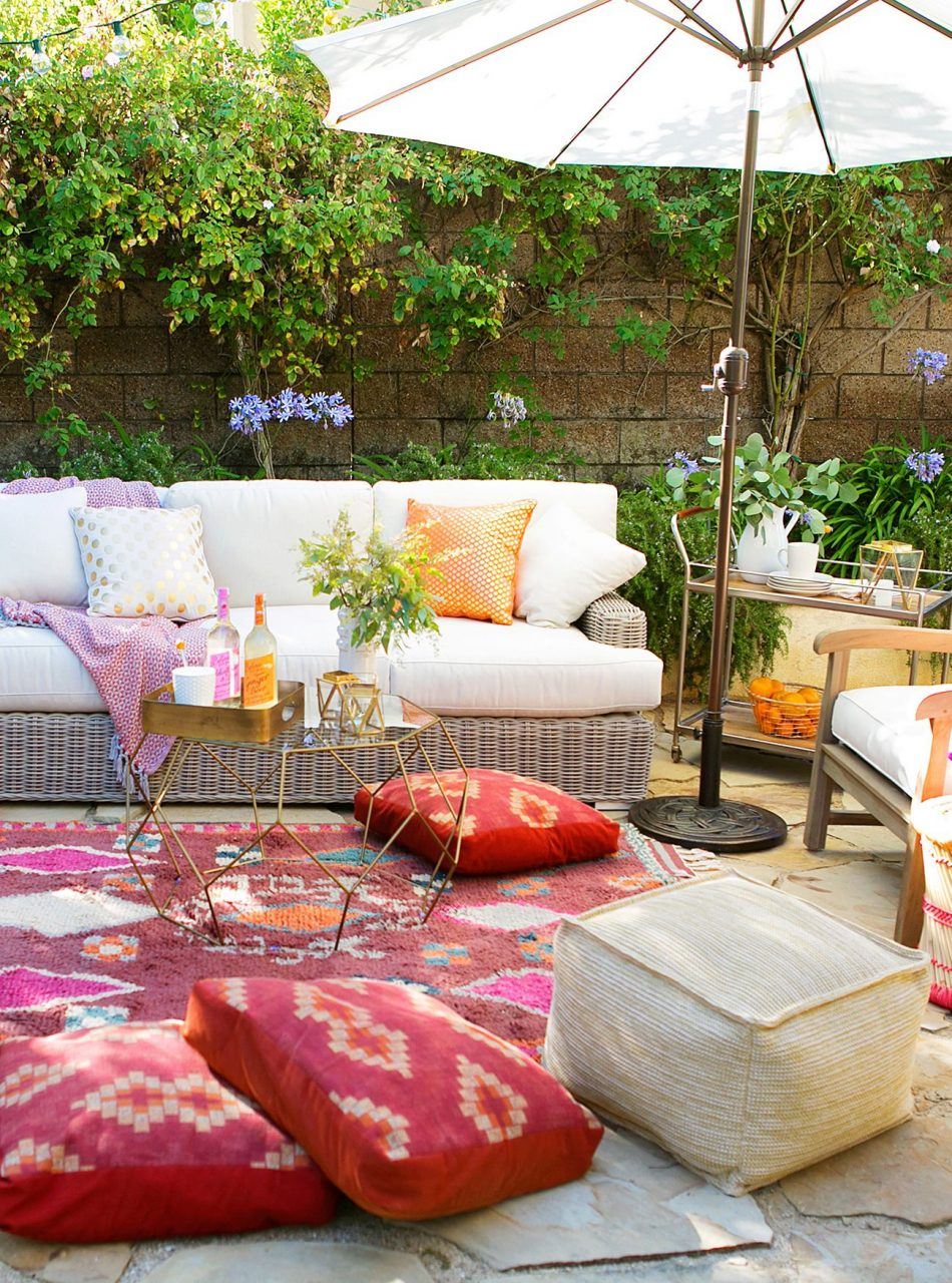 10 Inspiring Boho Chic Outdoor Spaces If I Lived In My Own