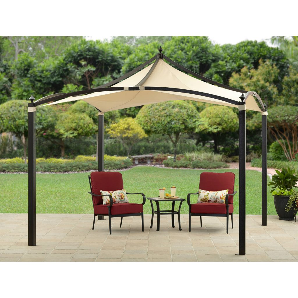 10 X 12 Outdoor Backyard Regency Patio Canopy Gazebo Tent With