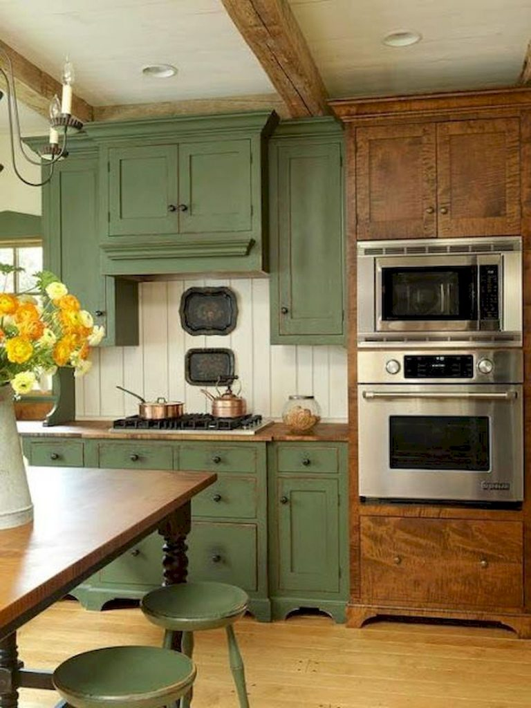 100 Best Rustic Farmhouse Kitchen Cabinets In List Oneonroom