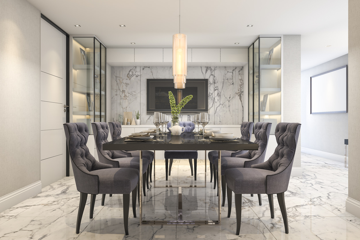 101 Dining Room Decor Ideas 2019 Styles Colors And Sizes Layjao