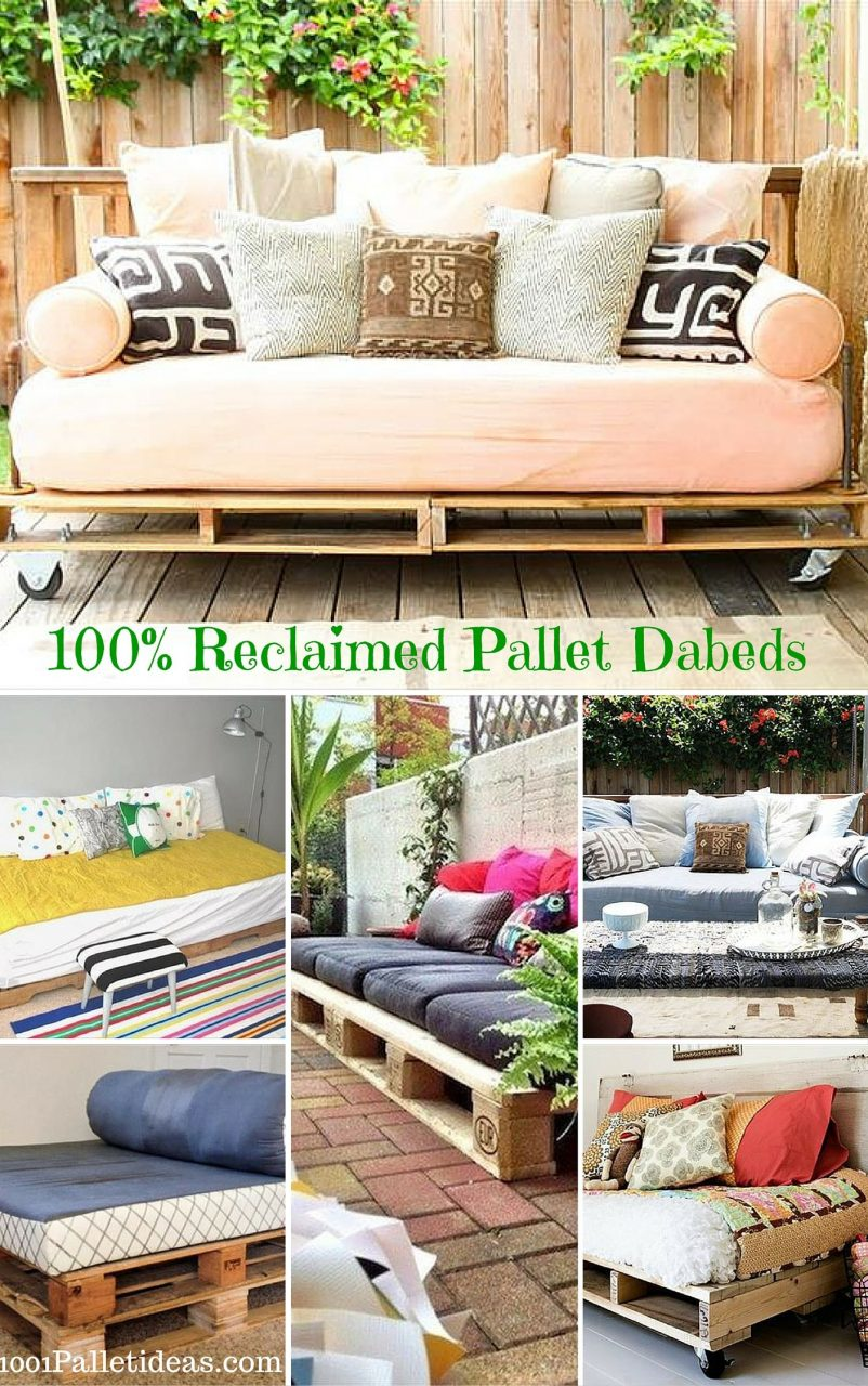 12 Diy Pallet Daybed Ideas Pallet Projects Pinterest Pallet