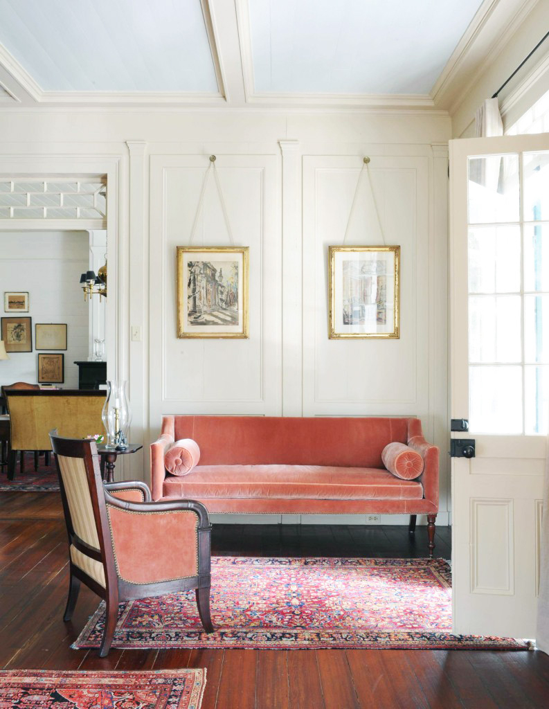 12 Times A Pink Sofa Made The Room Designsponge