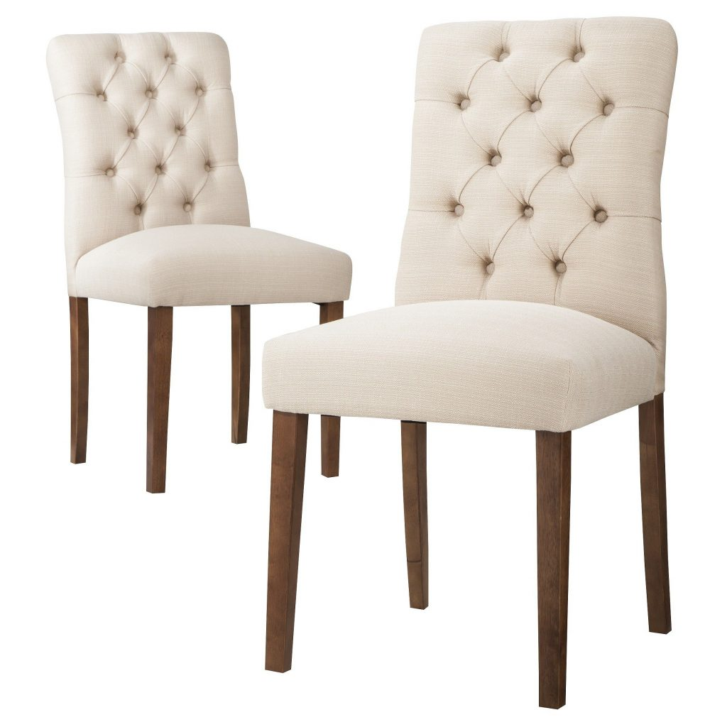 120 Threshold Brookline Tufted Dining Chair Set Of 2 Target