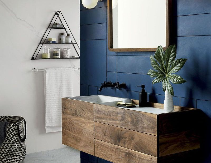 13 Ideas For Creating A More Manly Masculine Bathroom A Dark
