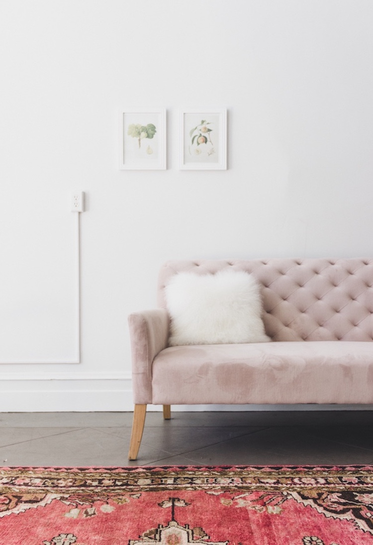 16 Chic Blush Pink Sofas How To Style Them