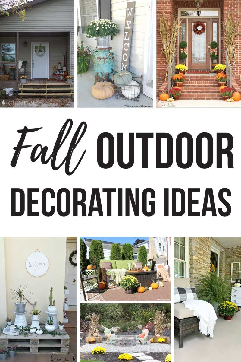 17 Fall Decorating Ideas For Outside Seasonal Holidays