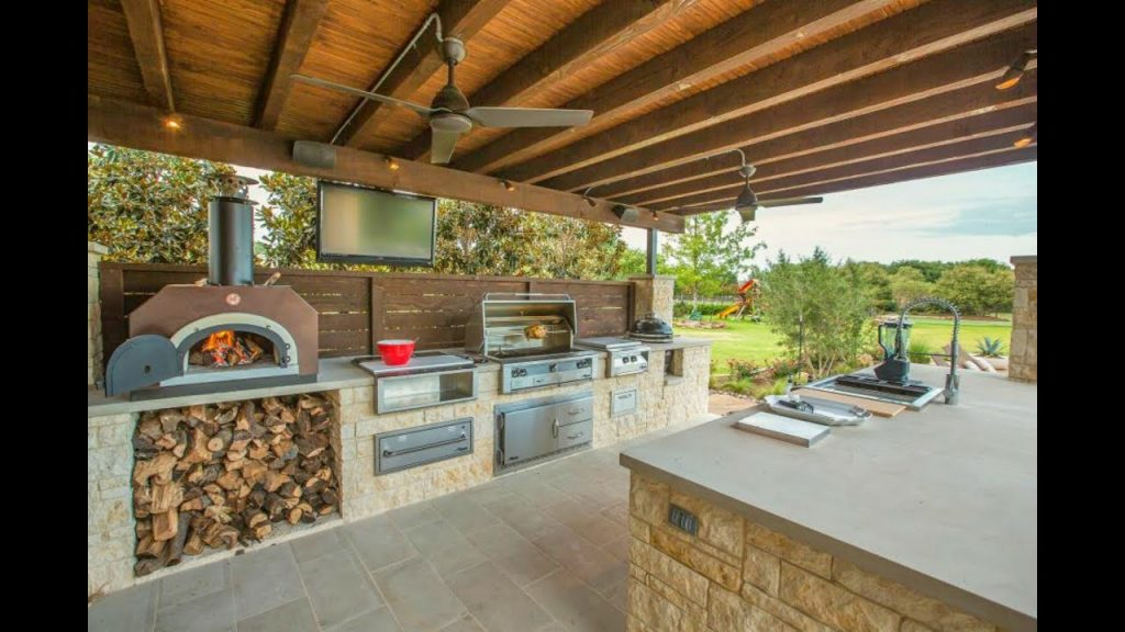 189 Outdoor Kitchen And Grill Design Ideas 2018 Small And Big