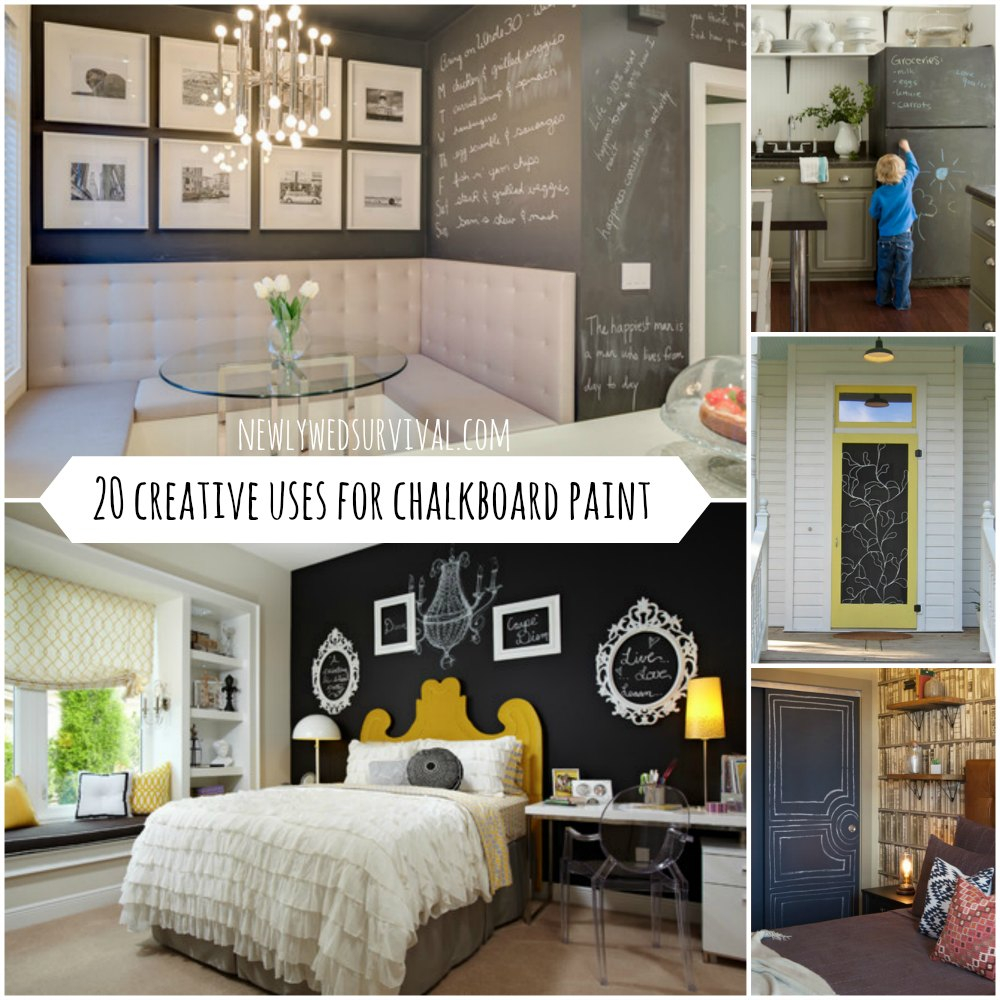20 Creative Ways To Use Chalkboard Paint In Your Home Diy