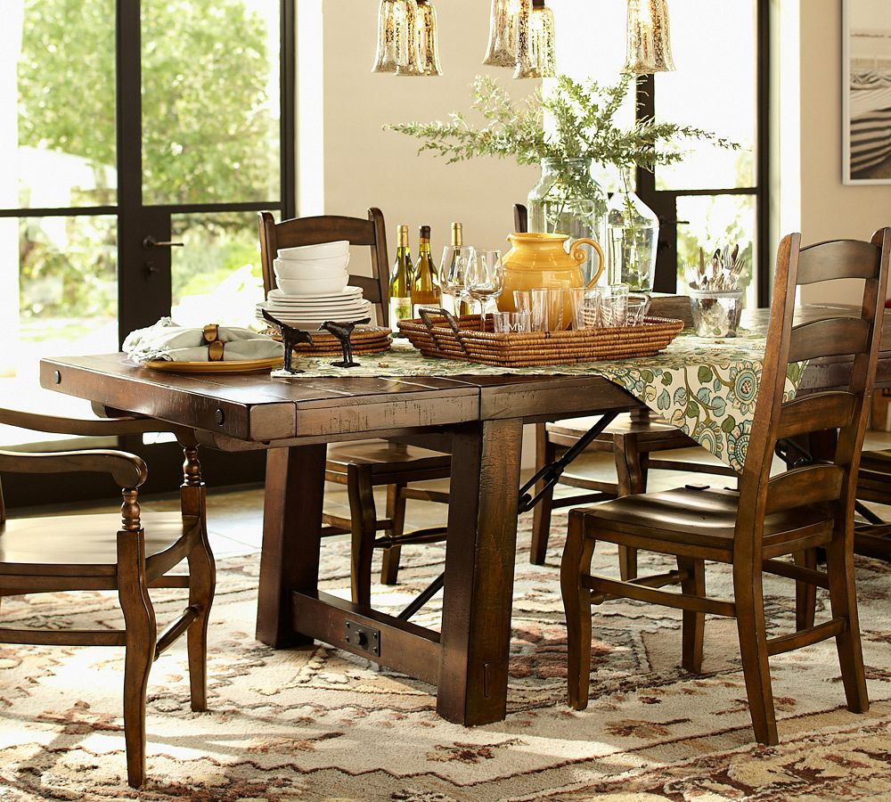 20 Stunning Pottery Barn Dining Room Table Geparden
