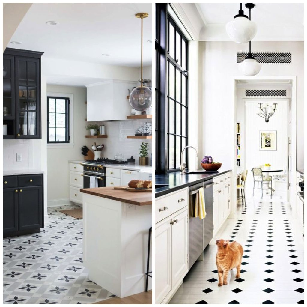 22 Inspirational Pictures Of Patterned Tile In The Kitchen