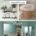 DIY Small Bathroom Decorating Ideas