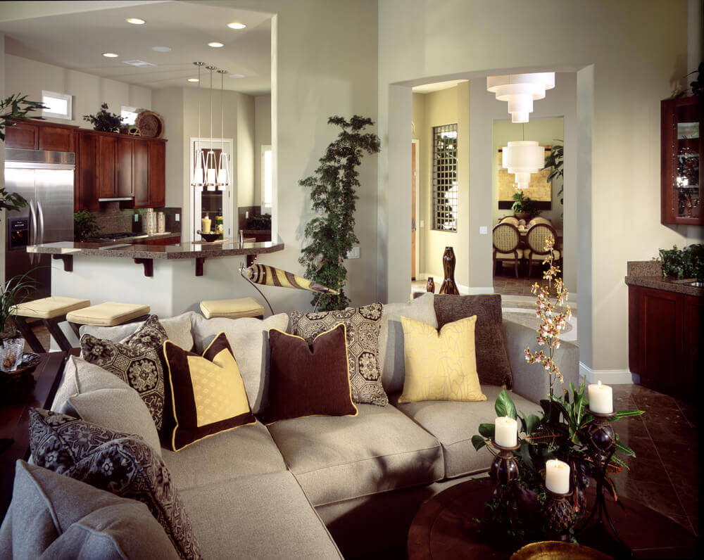 27 Elegant Living Room Sectionals