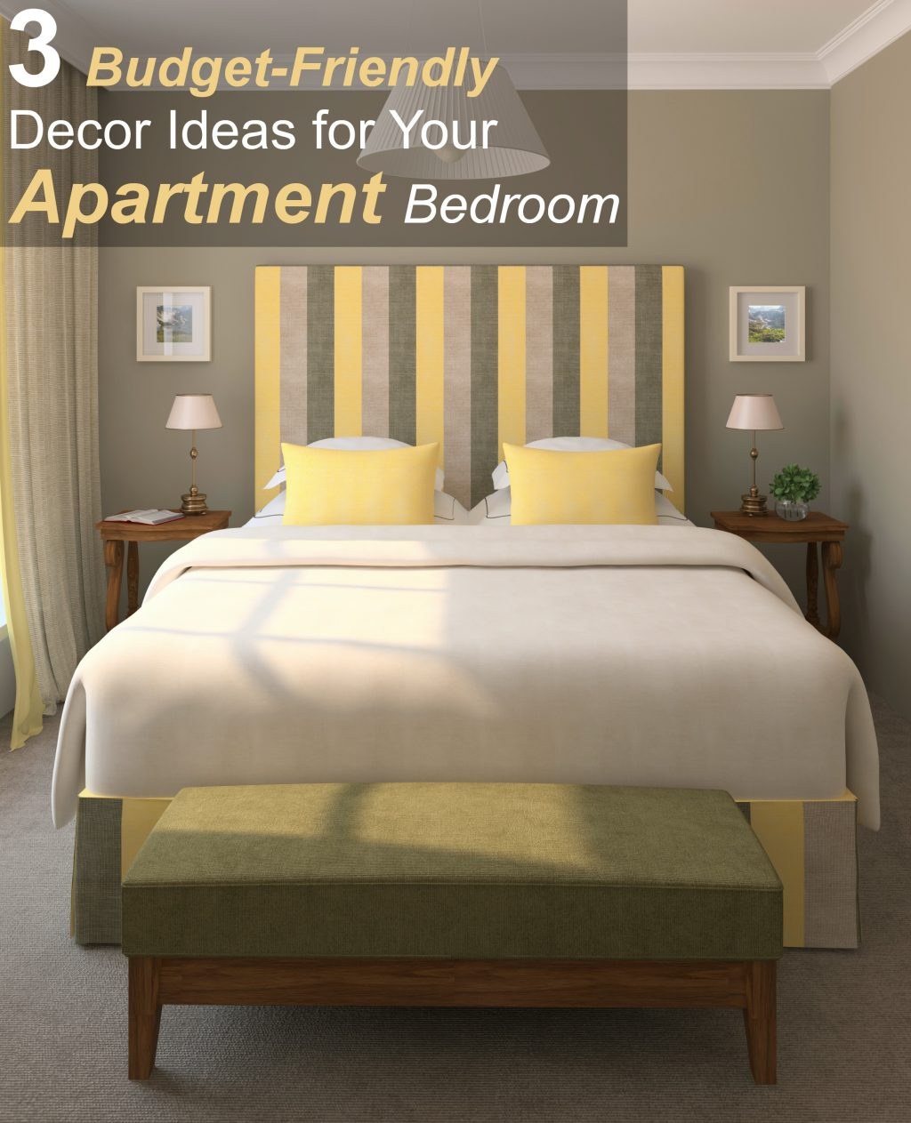 3 Budget Friendly Decor Ideas For Your Apartment Bedroom