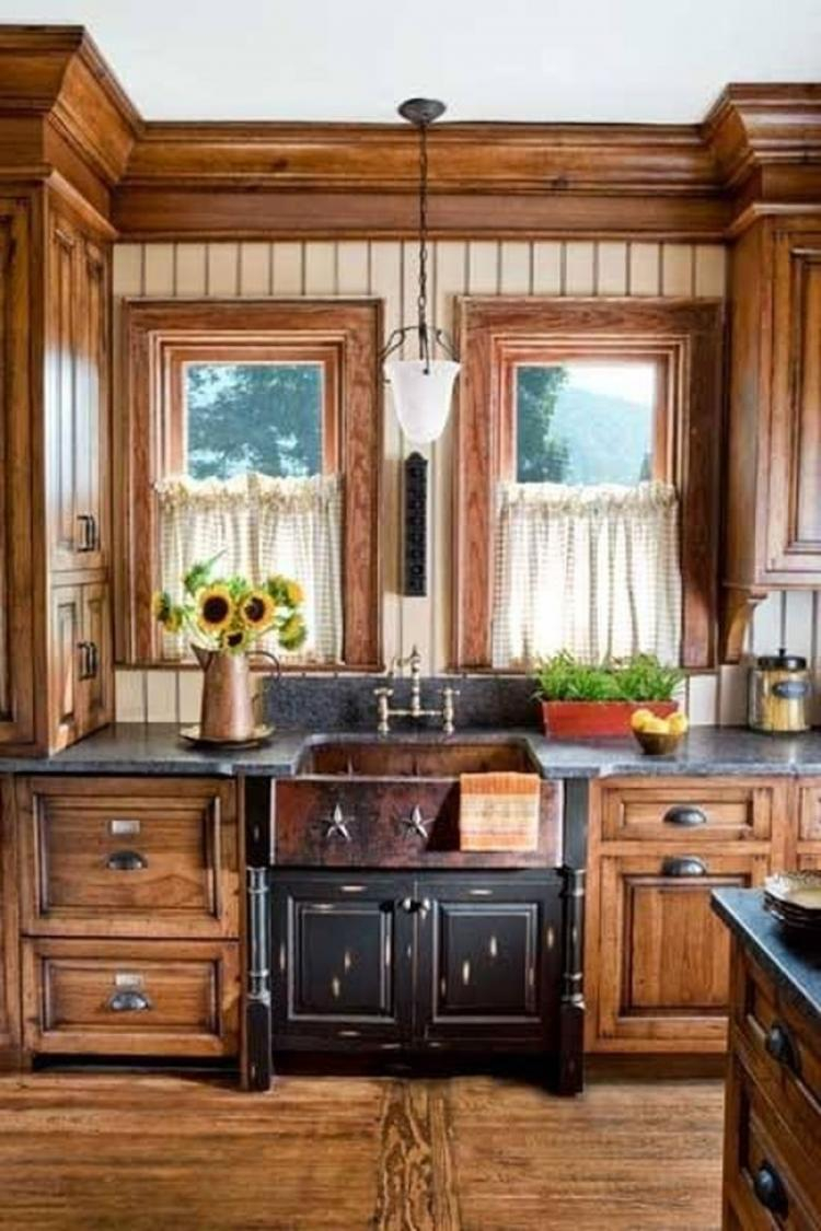 30 Amazing Rustic Farmhouse Kitchen Cabinets Ideas House Inspiration