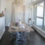Dining Table Rustic Glam Decor