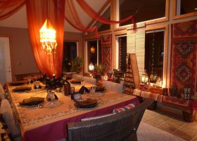 Moroccan Dining Room Decor