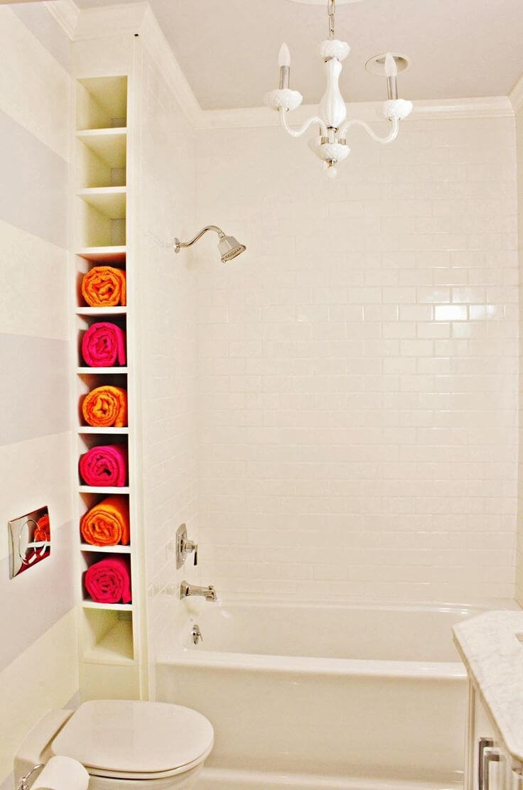 34 Best Towel Storage Ideas And Designs For 2019
