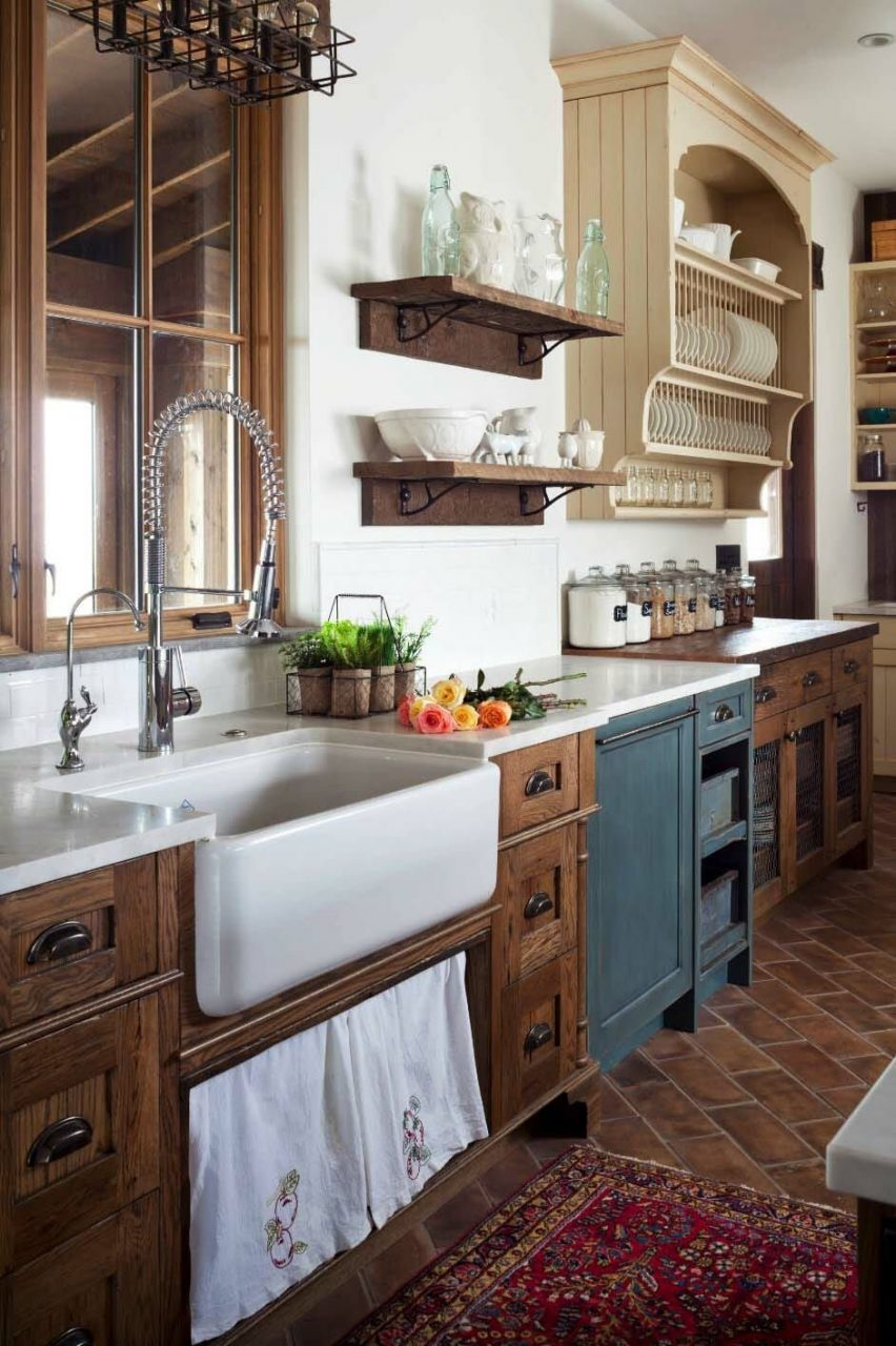 35 Amazingly Creative And Stylish Farmhouse Kitchen Ideas Cheese