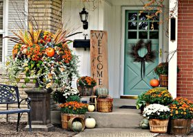 Fall Outdoor Patio Ideas