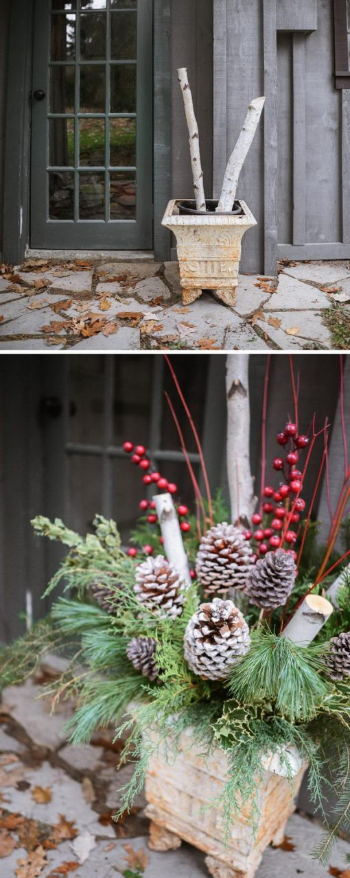 50 Beautiful Rustic Christmas Decorations Hative