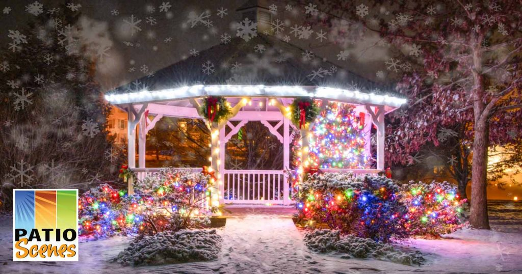 7 Ways To Weather The Cold In Your Gazebo This Winter Patio Scenes