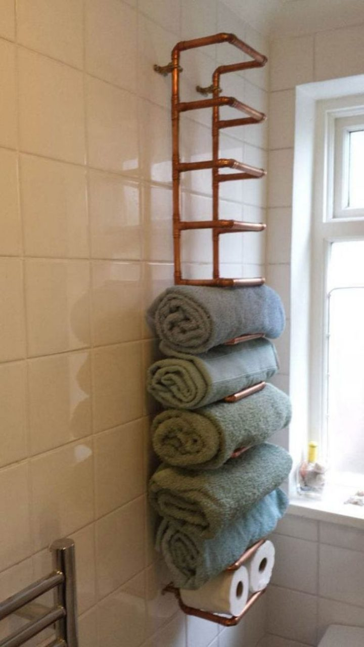 9 Great Towel Storage Ideas On Your Rest Room Bathroom Towel