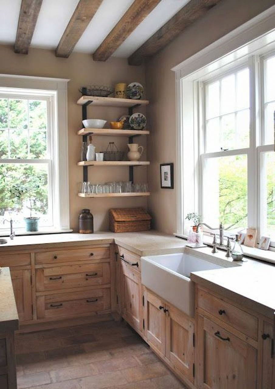 90 Rustic Kitchen Cabinets Farmhouse Style Ideas 8 Home