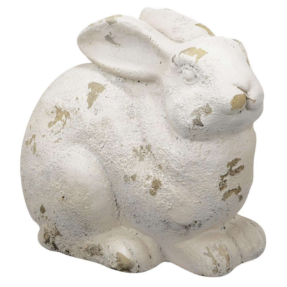 A B Home 11 In Magnesia Rabbit Statue Fd75438 The Home Depot
