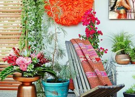 Boho Outdoor Living