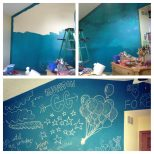 Add Chalkboard Paint Powder To Any Color Of Paint And Paint A