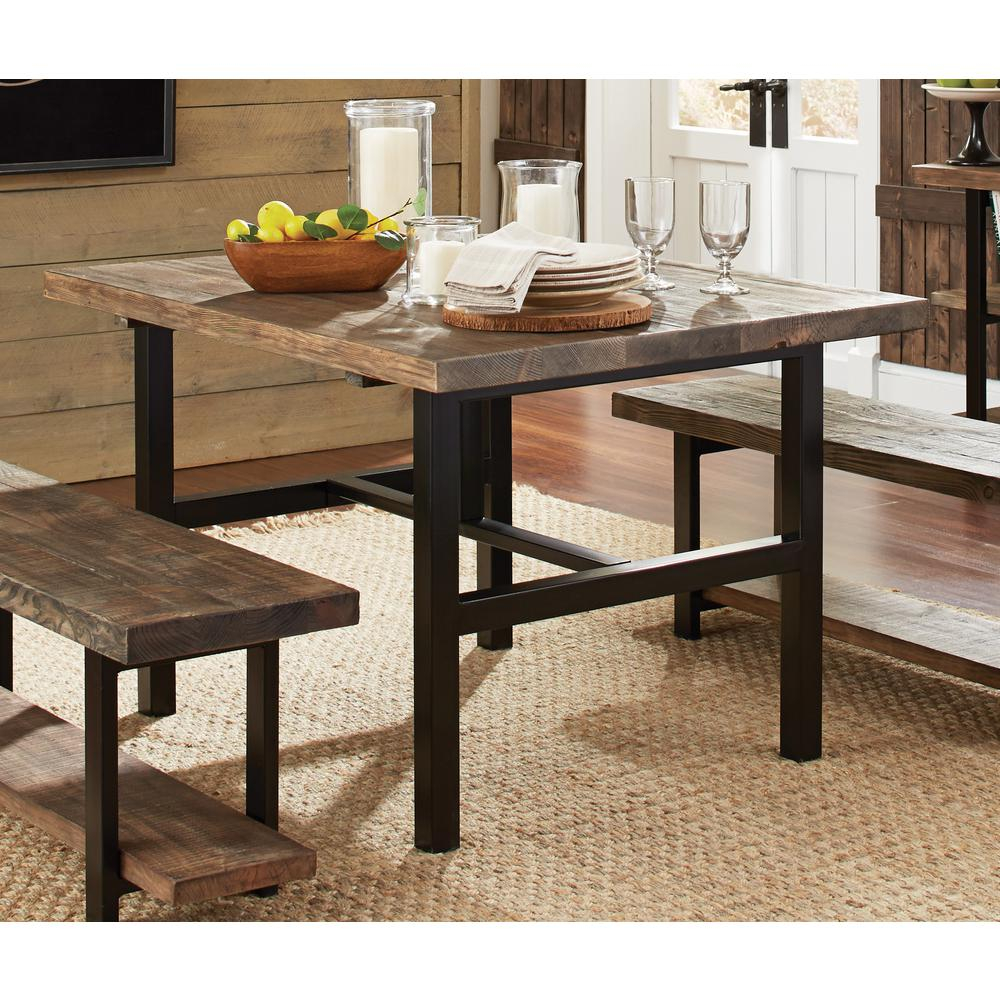 Alaterre Furniture Pomona Rustic Natural Dining Table Amba1720 The
