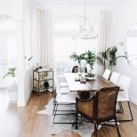 All White Euro Inspired Formal Dining Room Lay Your Head In 2018