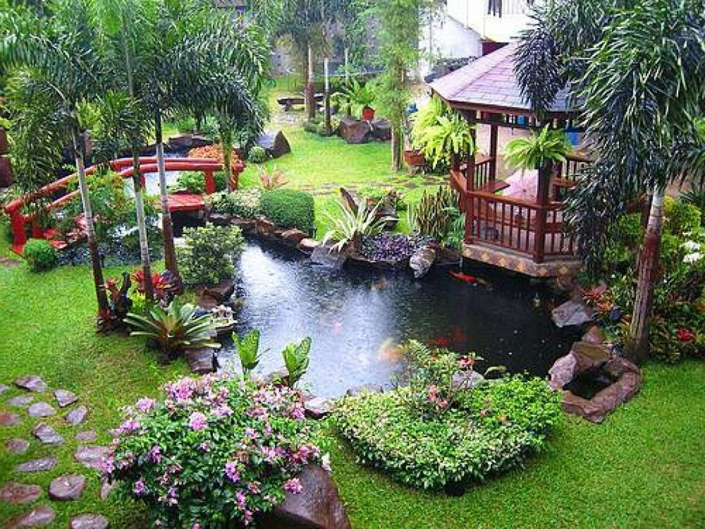 Amazing And Cool Pond Exterior Decoration Ideas Beautiful Modern