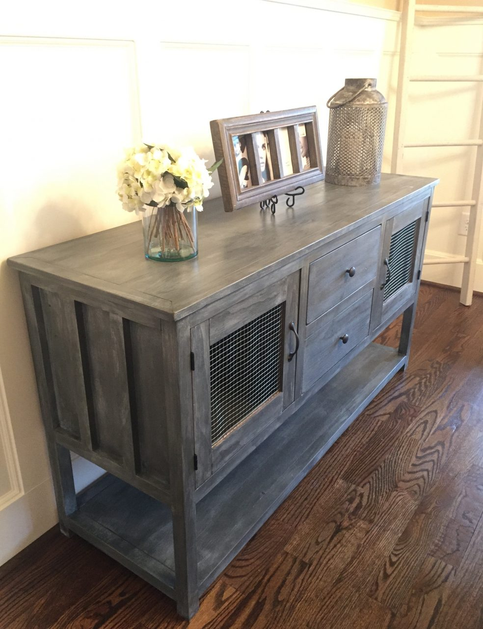 Ana White Farmhouse Buffet From Altered Cabin Dresser Diy Projects
