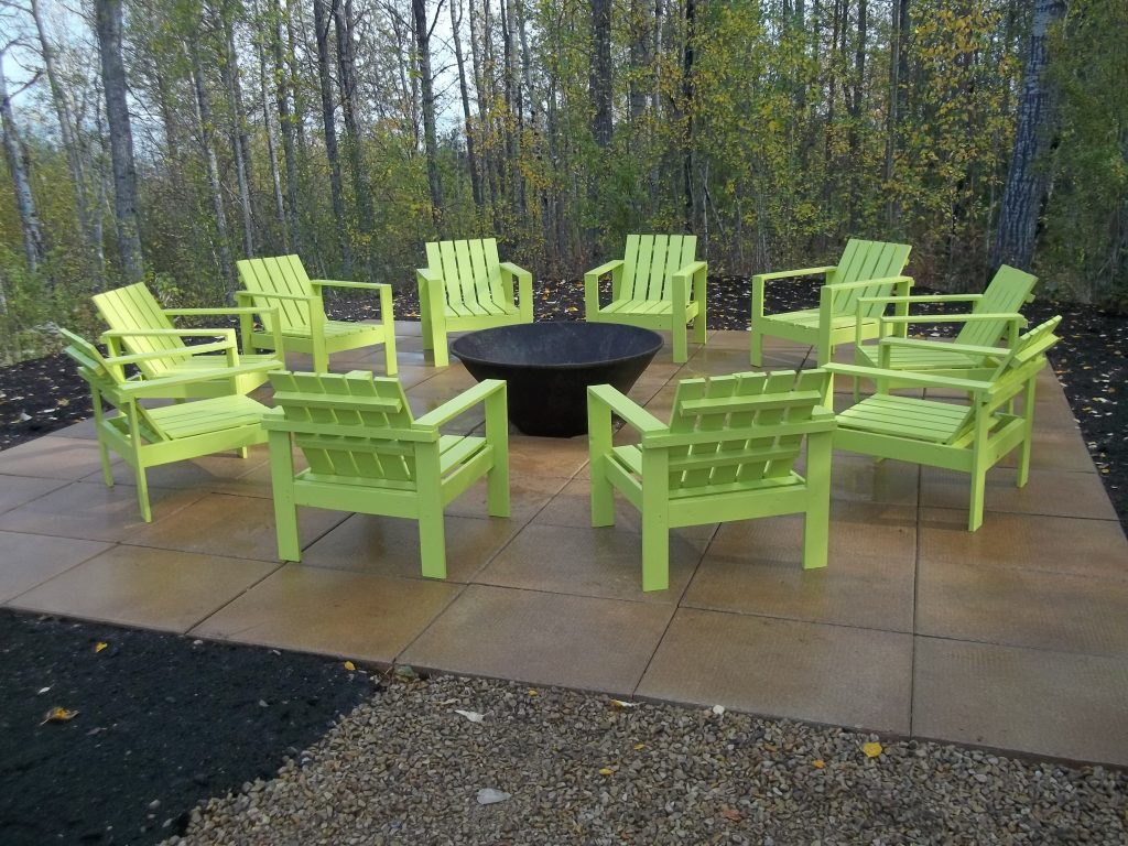 Ana White Simple Outdoor Chairs For The Firepit Diy Projects