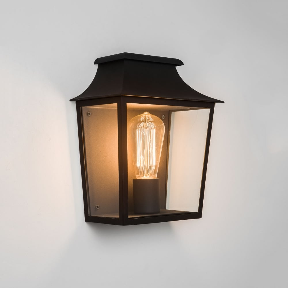 Astro Lighting Richmond 235 Ip44 Exterior Wall Lantern Light In Black