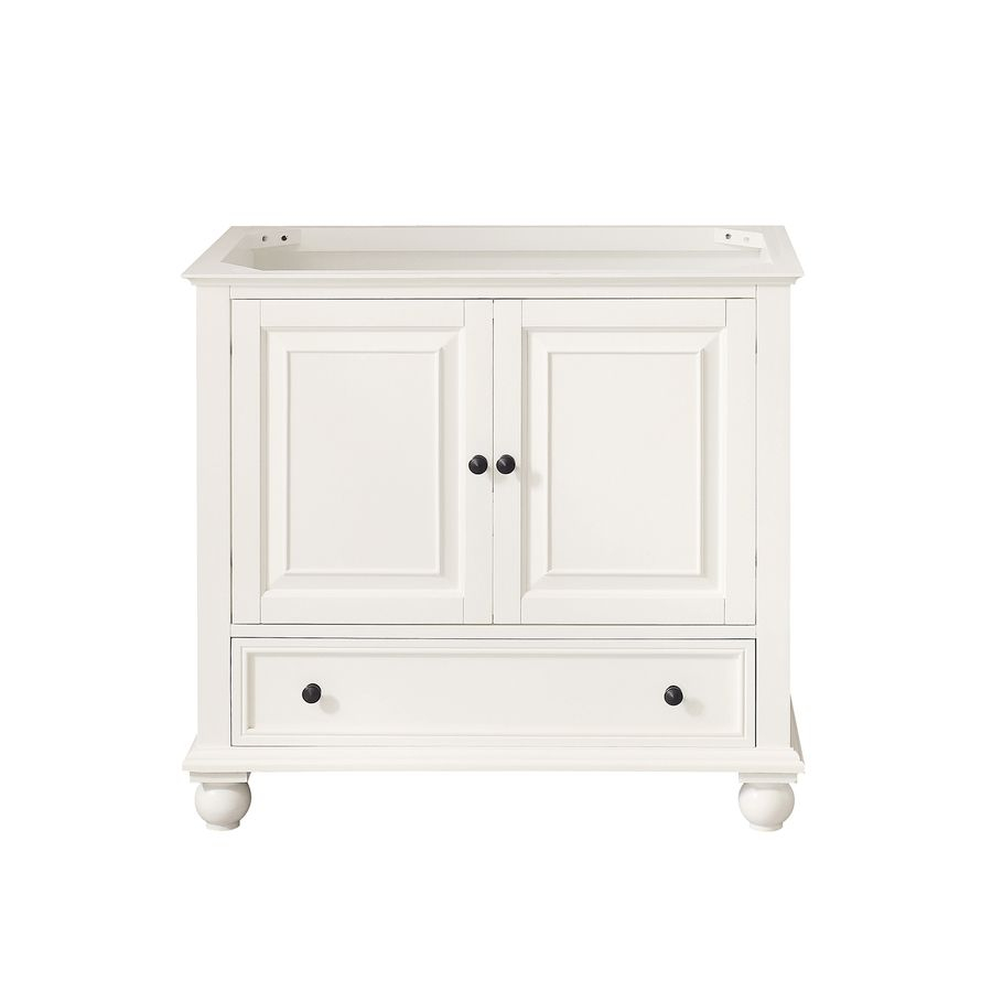 Avanity Thompson French White Common 36 In X 21 In Traditional