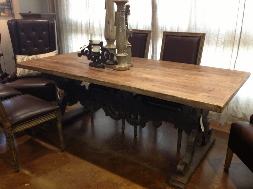 Awe Inspiring Shab Chic Oval Rustic Dining Table Under Vintage 5