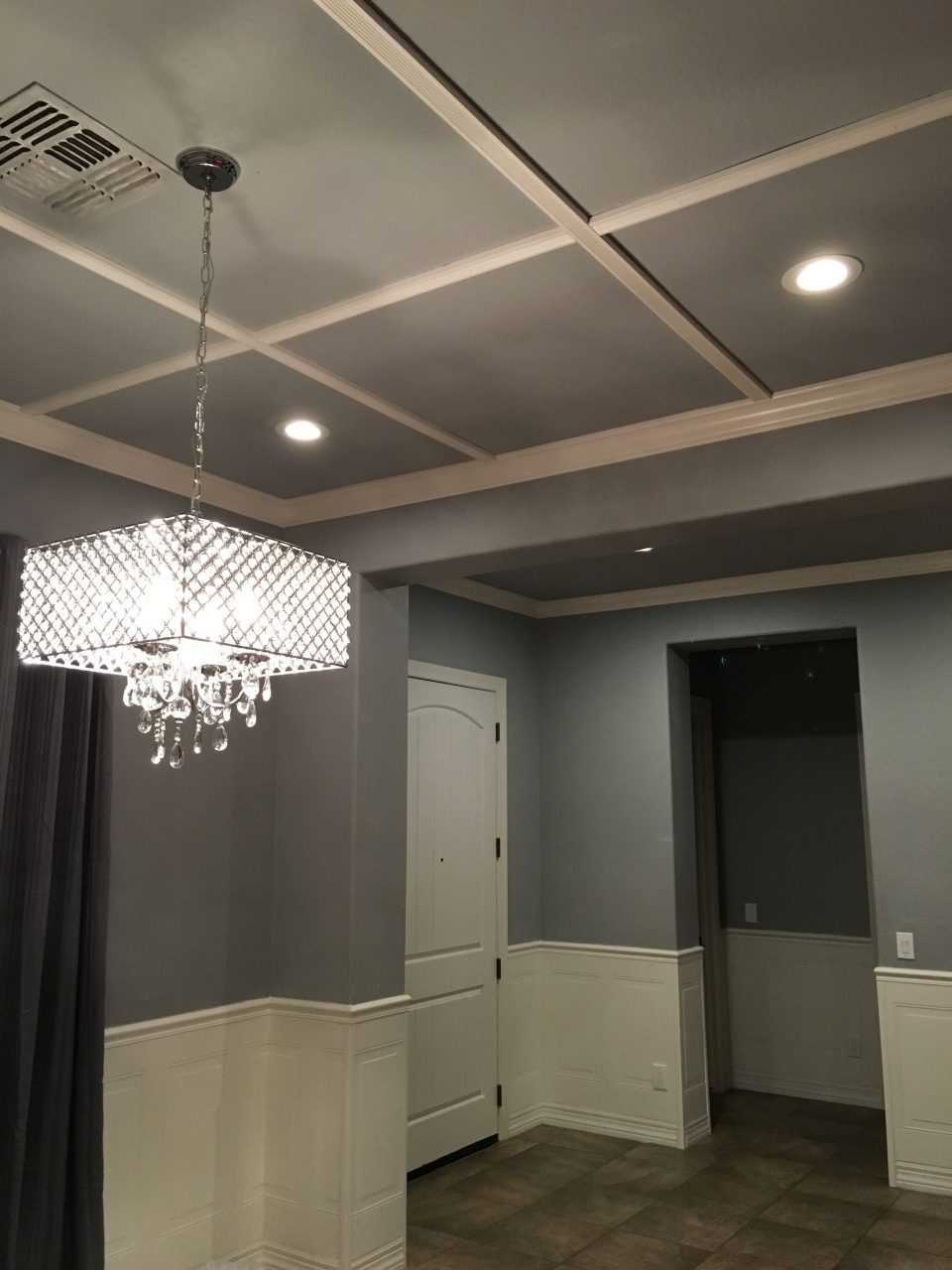 Az Recessed Lighting Beautiful Dining Room And Entry Hallway Remodel