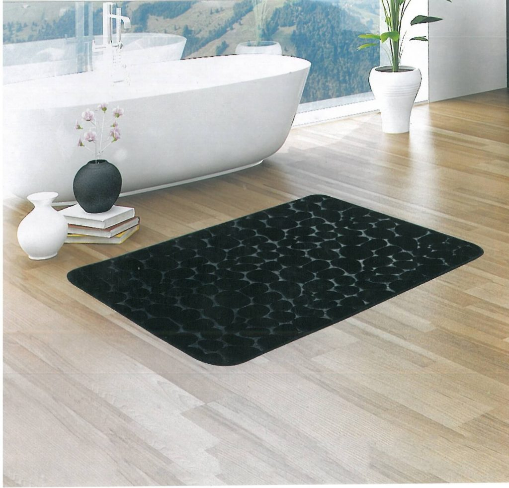Bathroom Black Bathroom Mat Set Pretty Bathroom Rugs Yellow Bath Mat