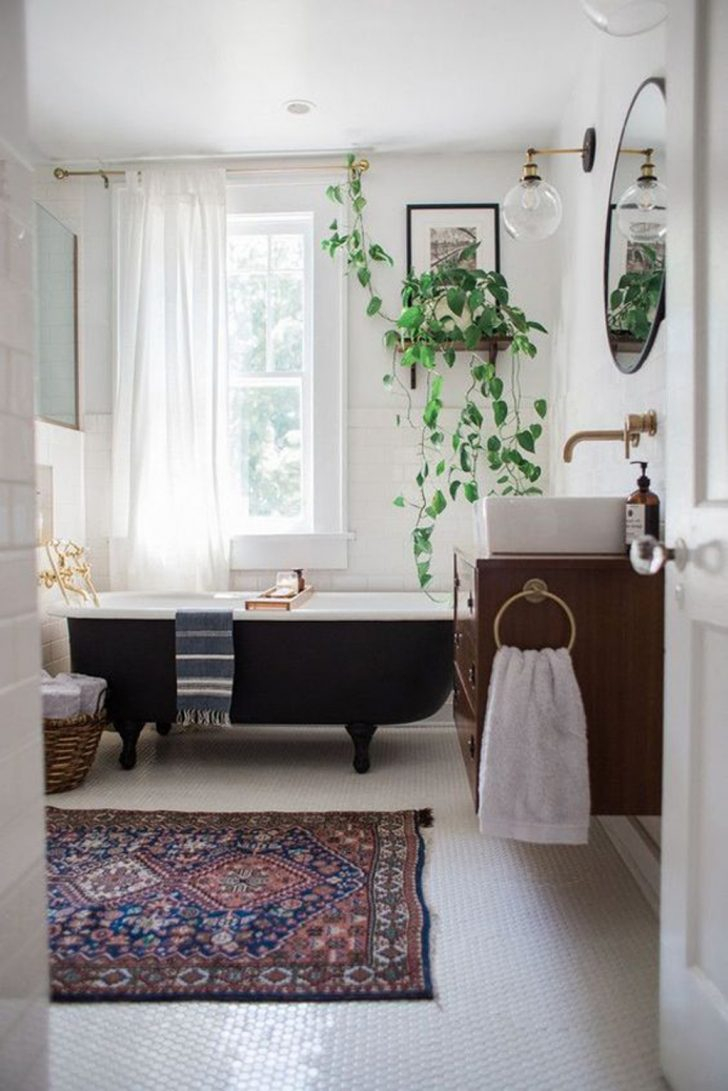 Bathroom Boho Bathroom Decor With Persian Rugs 20 Chic And