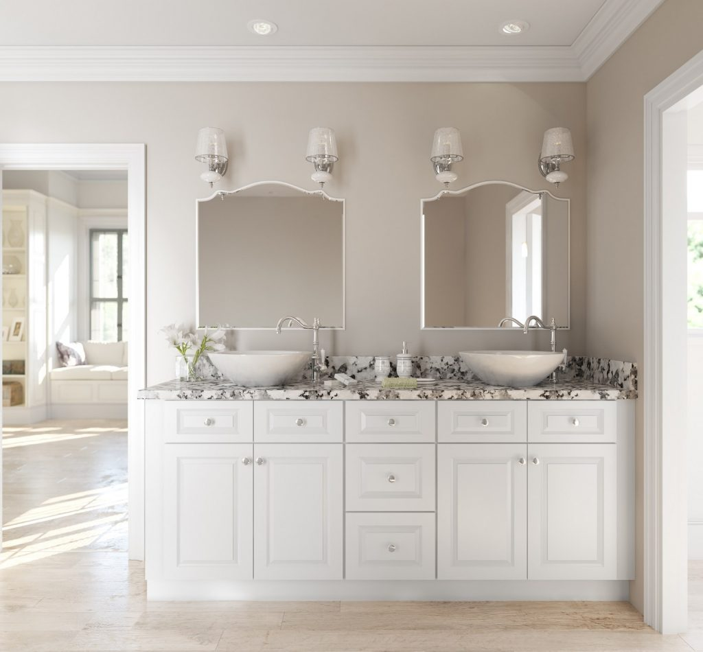 Bathroom Easy Bathroom Vanities Installation 2018 With Mirror Cool