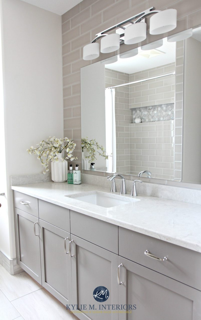 Bathroom Remodel Moen Glyde Fixtures Bianco Drift Quartz