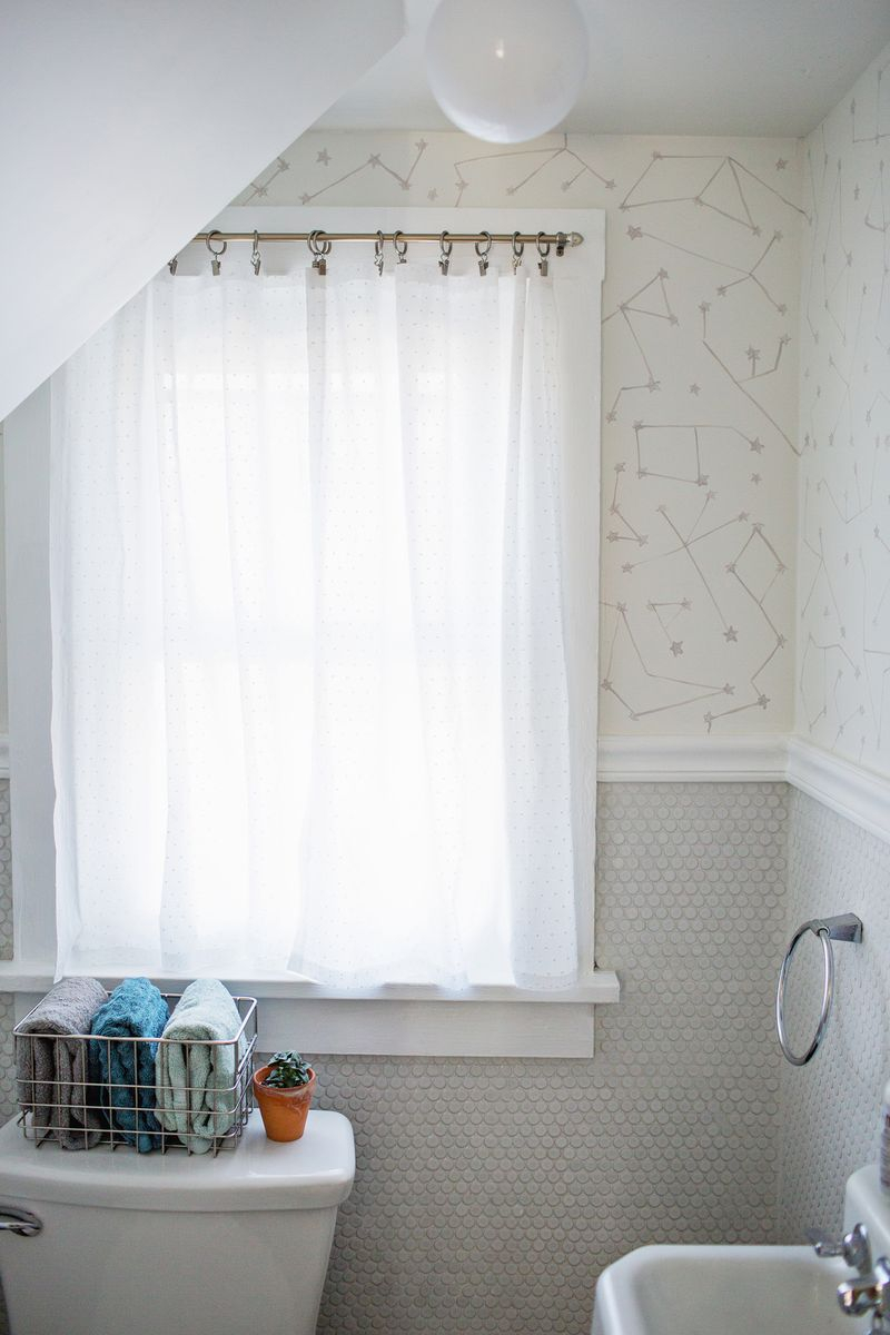 Bathroom White Curtain Panels White Cafe Curtains Half Window